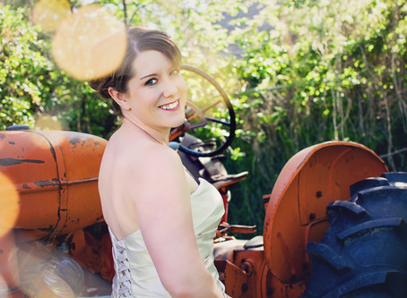 Sarah + Alex || Pocatello || Backyard Wedding || June