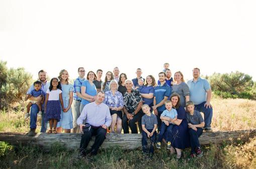 Extended Family Session Idaho