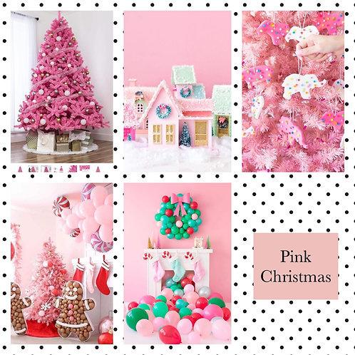Pink Christmas Session