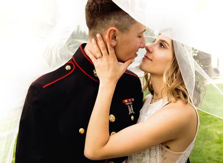 Kylee + Tucker || Montana Backyard Wedding || June