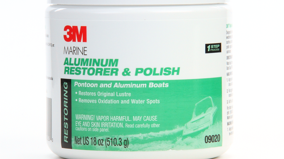 3M™ Marine Aluminum Restorer and Polish, 09020, 18 oz, 6 per case