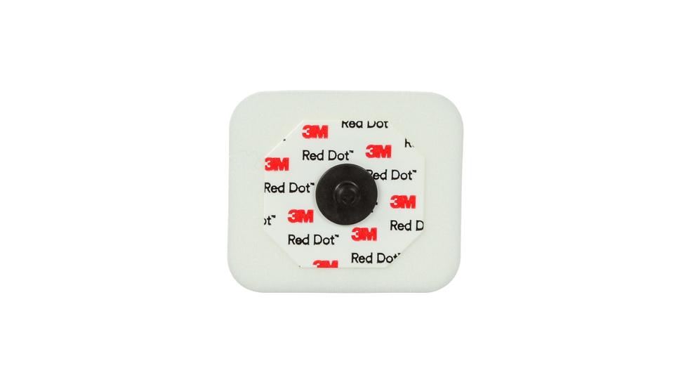 3M™ Red Dot™ ECG Monitoring Electrodes, Radiolucent, Foam