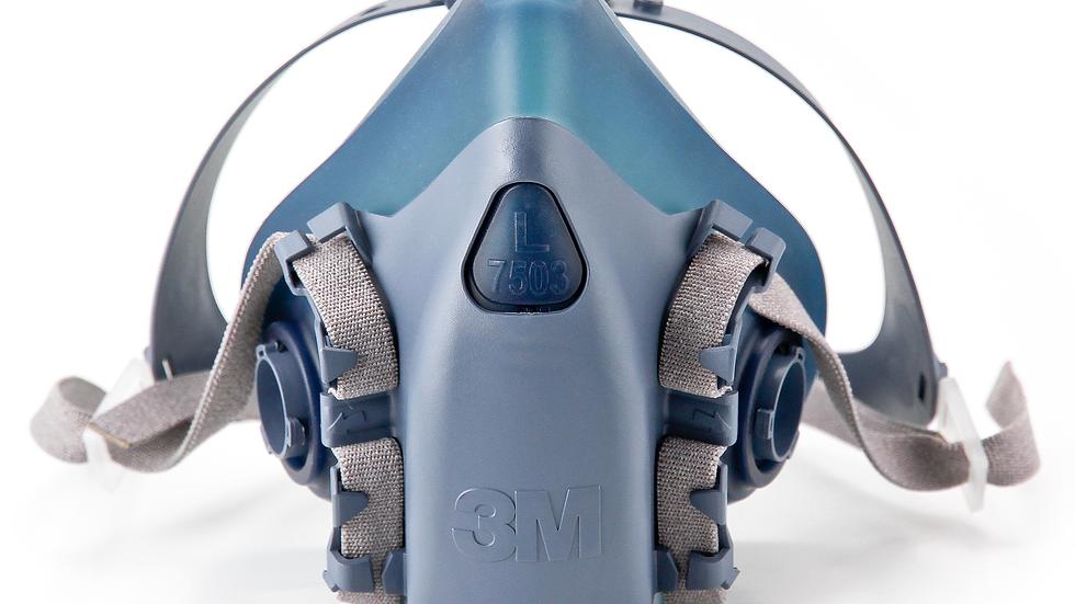 3M™ Half Facepiece Reusable Respirator 7503/37083(AAD) Large 10 EA/Case