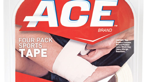 ACE™ Sports Tape 207464, 4-pack; 1.5 in x 10 yds