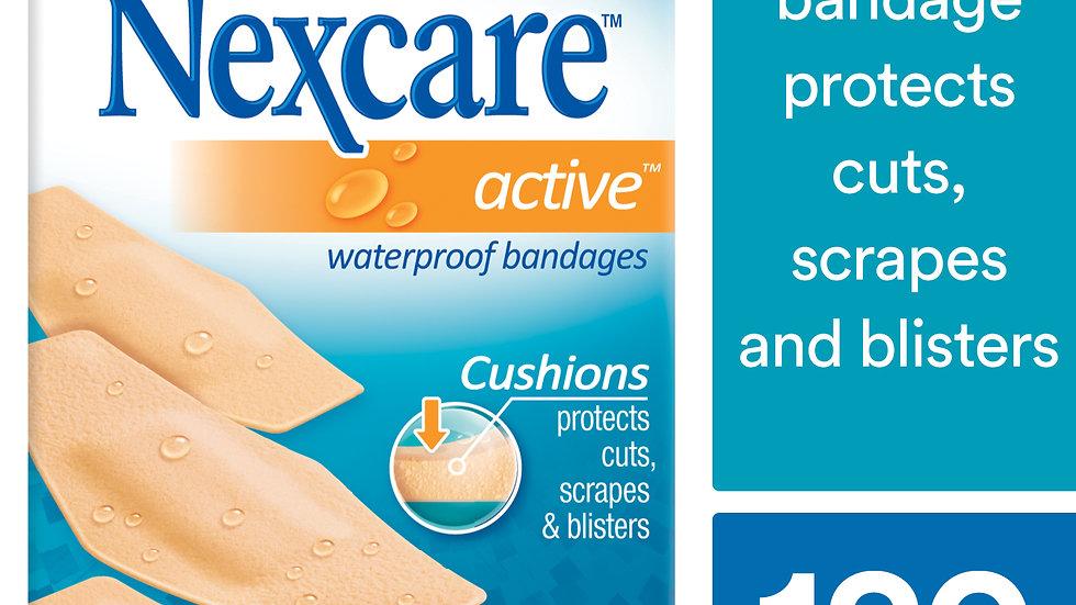 Nexcare™ Active™ Waterproof Bandages, 516-30PB, 30 ct. Assorted