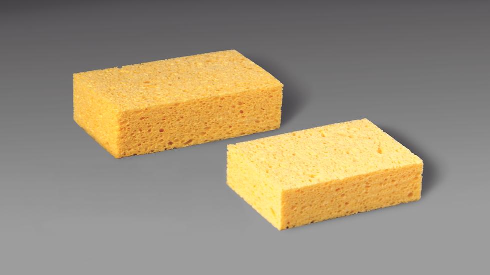 3M™ Commercial Size Sponge 7456-T, 7.5 in x 4.375 in x 2.06 in, 24/case
