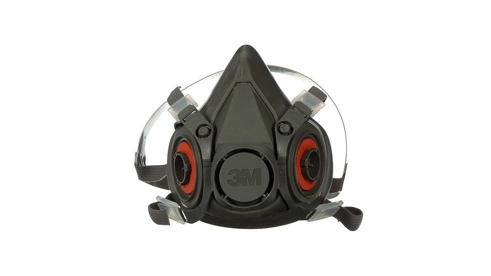 3M™ Half Facepiece Reusable Respirator 6300/07026(AAD) Large 24 EA/Case