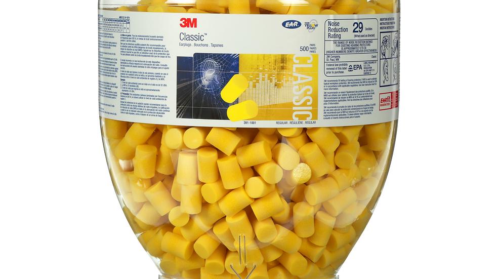 3M™ E-A-R™ Classic™ One Touch™ Refill 391-1001, 2000 EA/Case