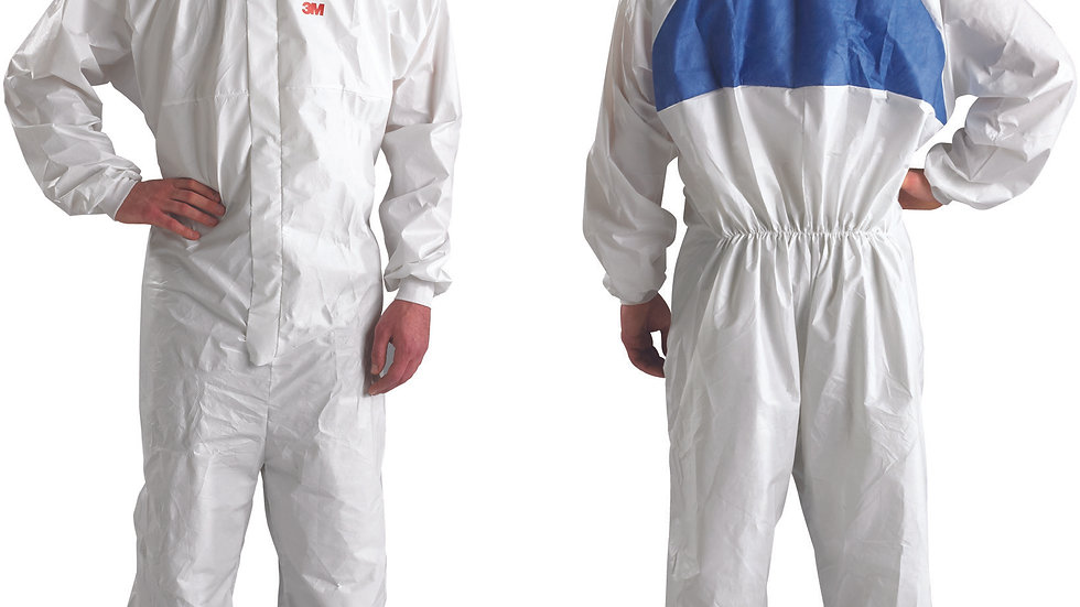 3M™ Disposable Protective Coverall 4540+4XL, 1/Bag, 20 Bags EA/Case