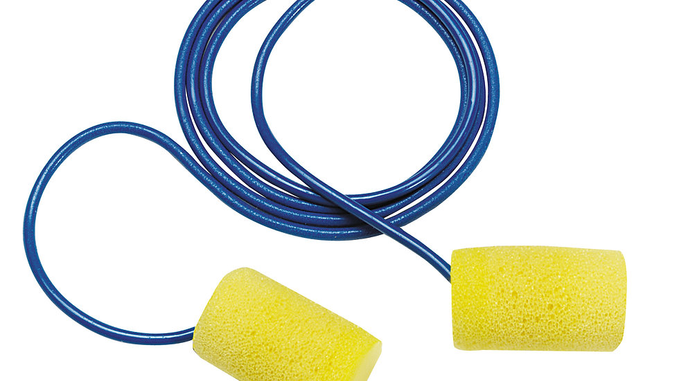 3M™ E-A-R™ Classic™ Earplugs 310-1080, Corded, Poly Bag, 1000 Pair/Case