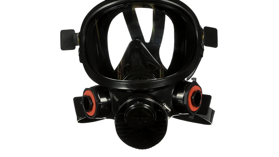 3M™ Full Facepiece Reusable Respirator 7800S-M, Medium, Silicone 1 EA/Case