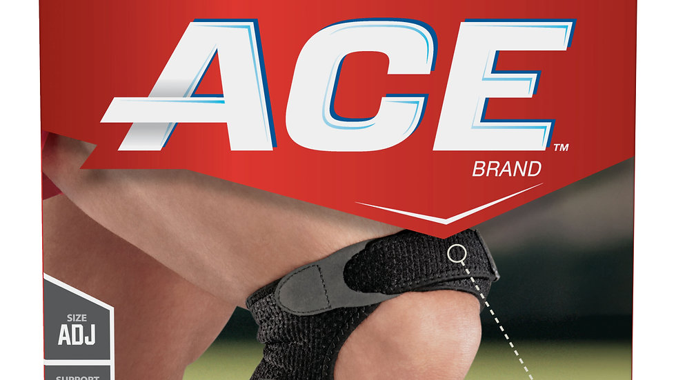 ACE™ Brand Dual Knee Strap 209310, Adjustable