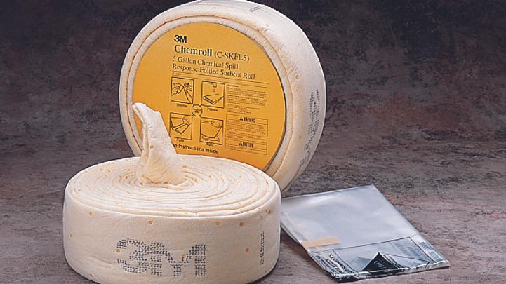 3M™ Chemical Sorbent Folded Spill Kit C-SKFL5/07175, 5 Gallons, 3 Each/Case