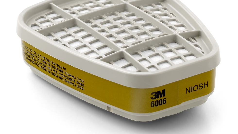 3M™ Multi Gas/Vapor Cartridge 6006, 60 ea/Case