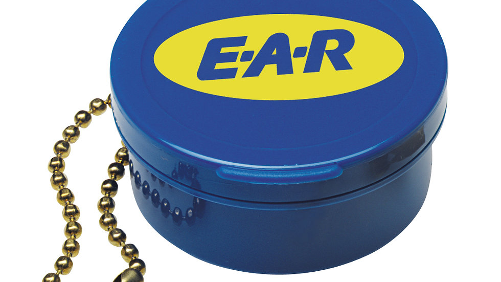 3M™ Earplug Carrying Case 390-9003, with Chain, 200 Pair/Case