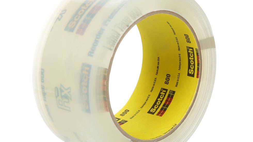 Scotch® Prescription Label Tape 800 Clear, 2 in x 72 yd