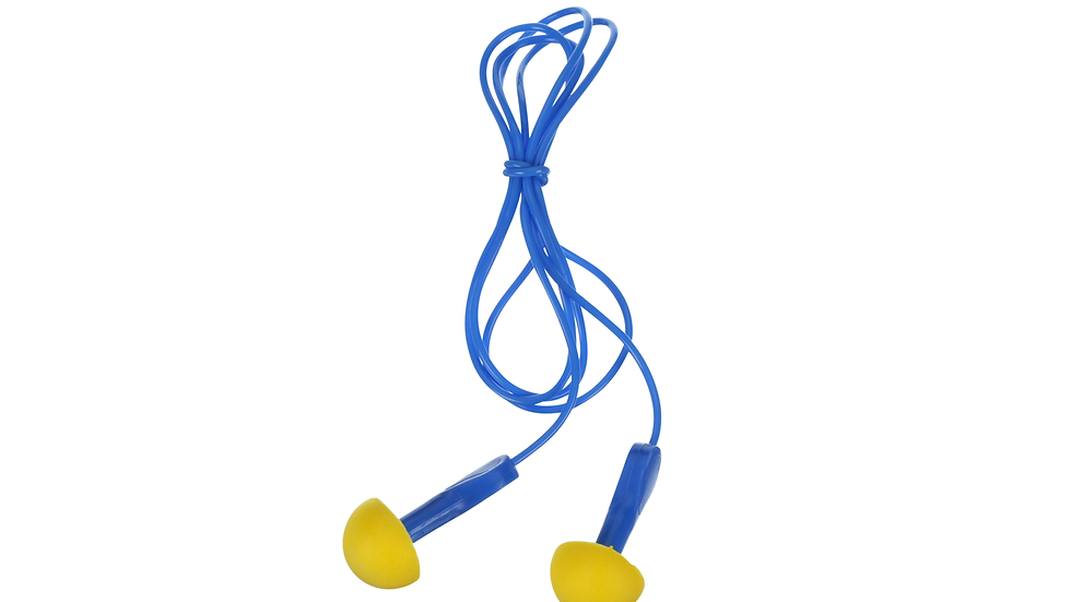 3M™ E-A-R™ EXPRESS™ Pod Plugs™ Earplugs 311-1127, Metal Detectable, Corded
