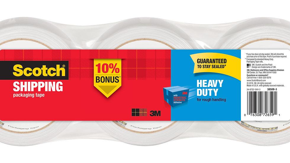 Scotch® Heavy Duty Shipping Packaging Tape 3850-3