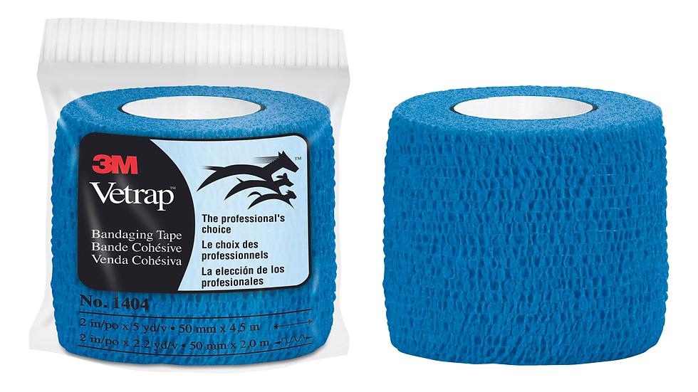 3M™ Vetrap™ Bandaging Tape 1404B BULK, 2 in x 5 yd (50 mm x 4,5 m)