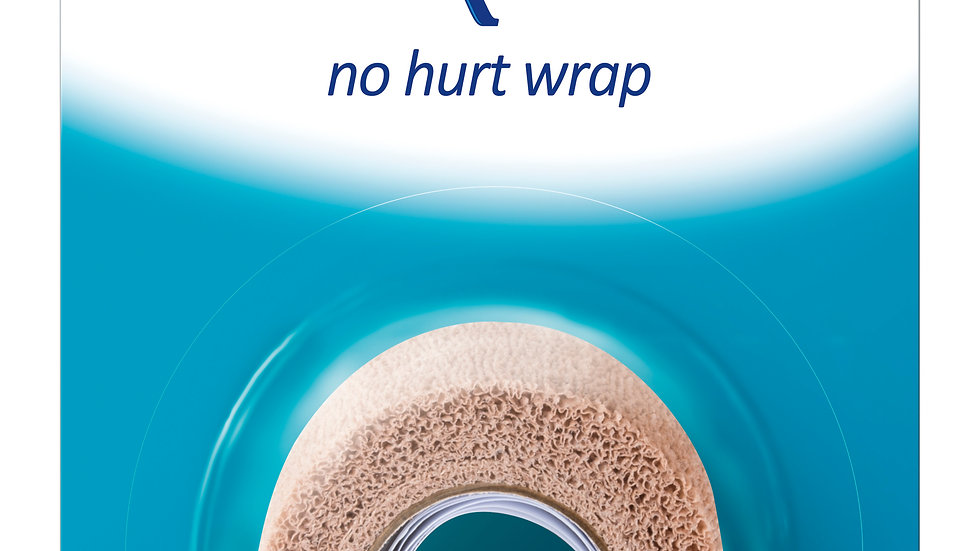 Nexcare™ No Hurt Wrap NHT-2, 2 in x 80 in (50,8 mm x 2 m) Unstretched
