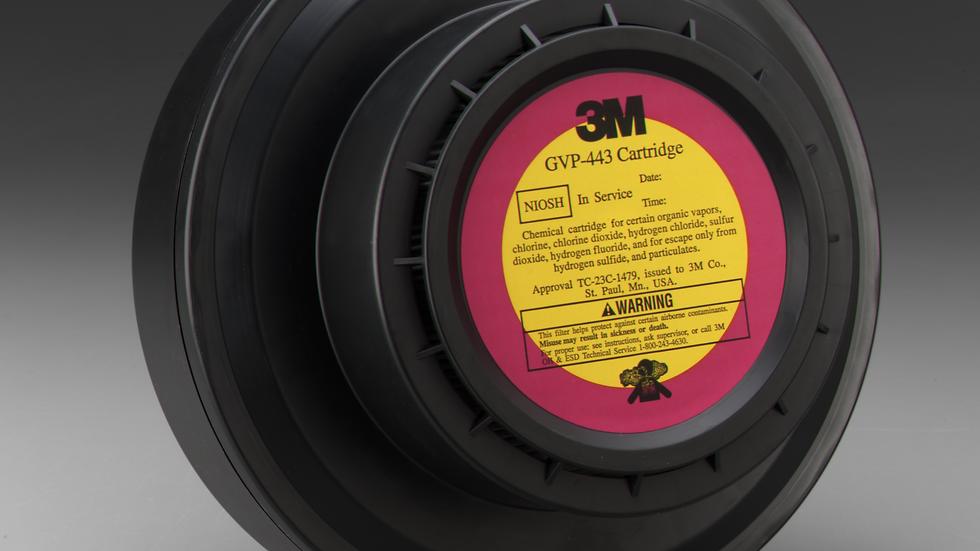 3M™ Powered Air Purifying Respirator (PAPR) Organic Vapor/Acid Gas/High