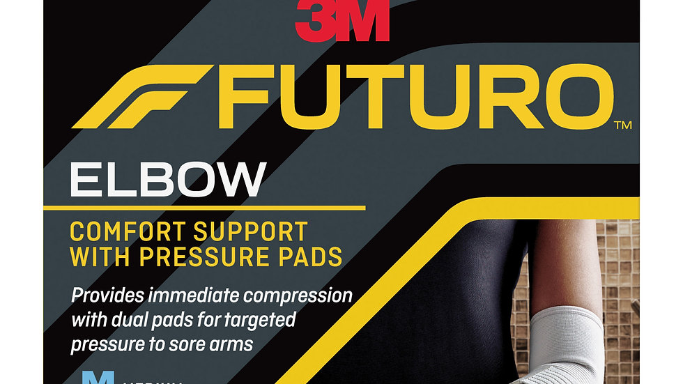 FUTURO™ Comfort Elbow with Pressure Pads, 47862ENR, Medium