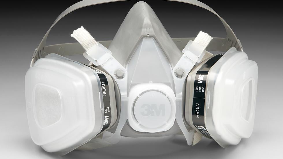 3M™ Half Facepiece Disposable Respirator Assembly 52P71, Organic Vapor/