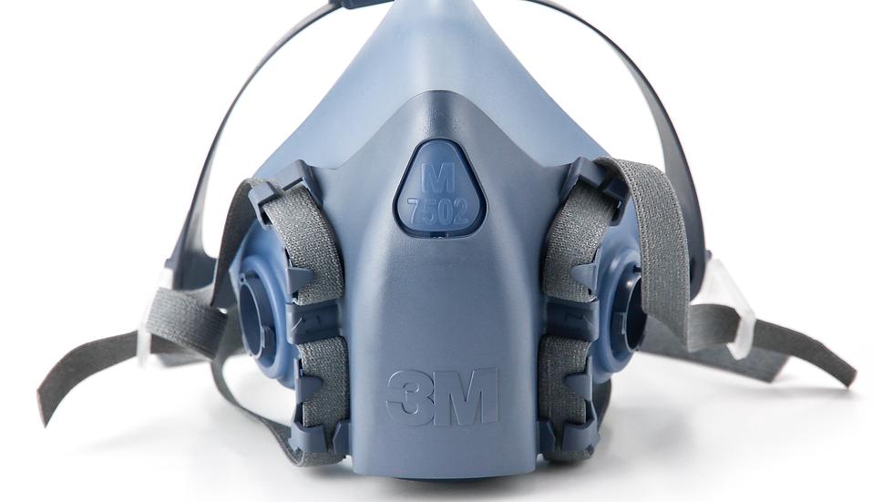 3M™ Half Facepiece Reusable Respirator 7502/37082(AAD) Medium 10 EA/Case