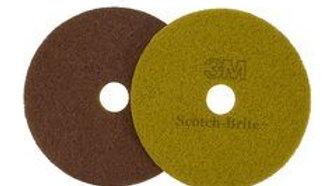 Scotch-Brite™ Sienna Diamond Floor Pad Plus, 20 in, 5/Case