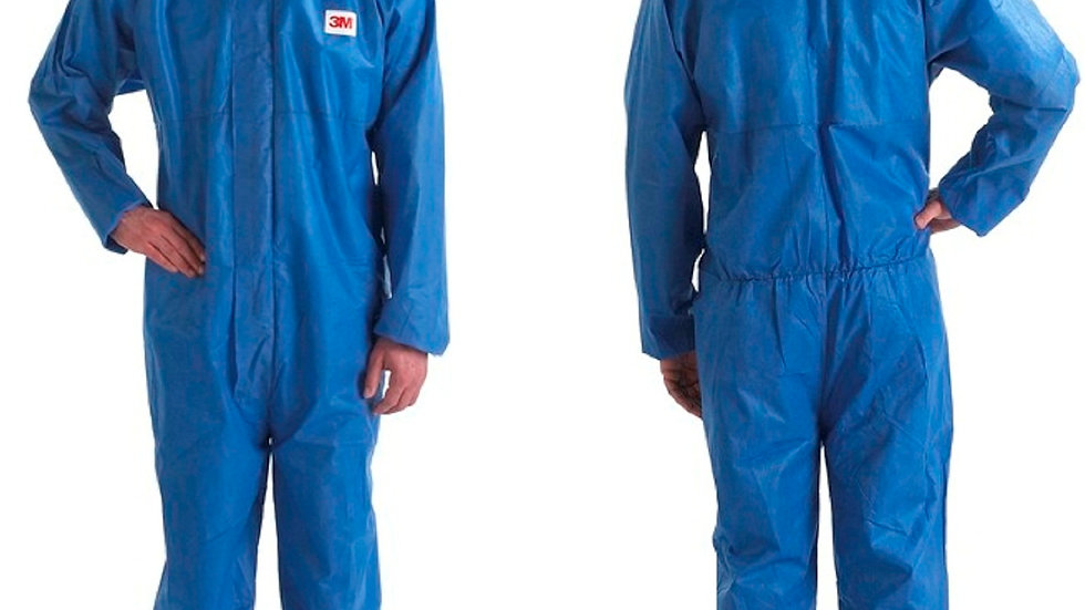 3M™ Disposable Protective Coverall 4515-M Blue Type 5/6, 20 EA/Case