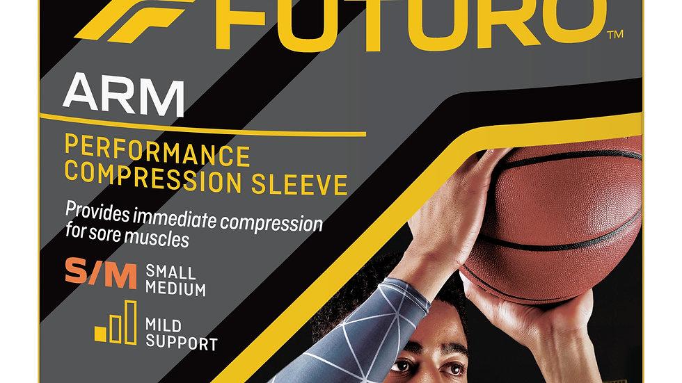 FUTURO™ Performance Compression Arm Sleeve, 80201EN, Small / Medium