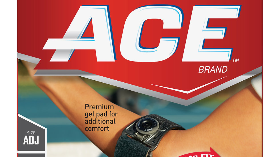 ACE™ Elbow Strap 209300, Adjustable, with Custom Dial System