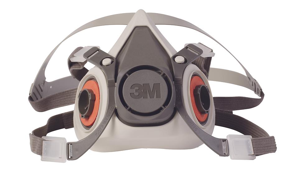 3M™ Half Facepiece Reusable Respirator 6100/07024(AAD) Small 24 EA/Case