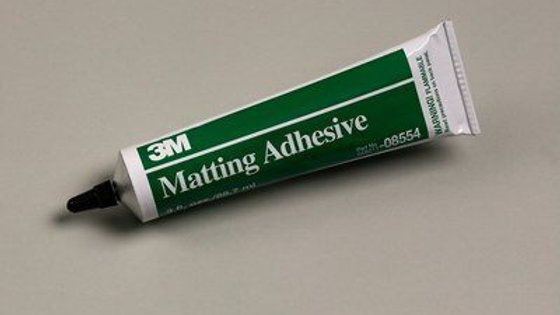 3M™ Matting Adhesive, 3 oz, Tube, 12/Case