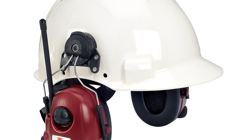 3M™ PELTOR™ ALERT™ FM-radio headset hard hat attached M2RX7P3E2-01