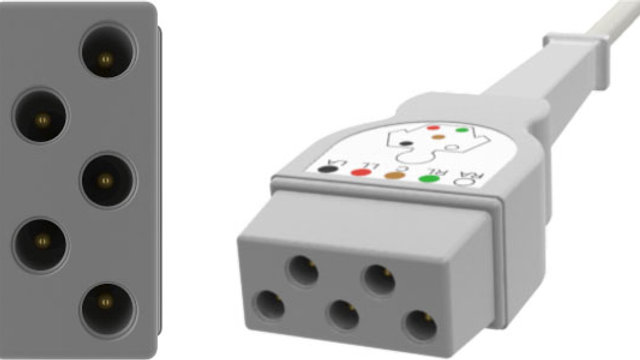 ECC Monitoring Cable, with safety DIN yoke Connection, D5C68