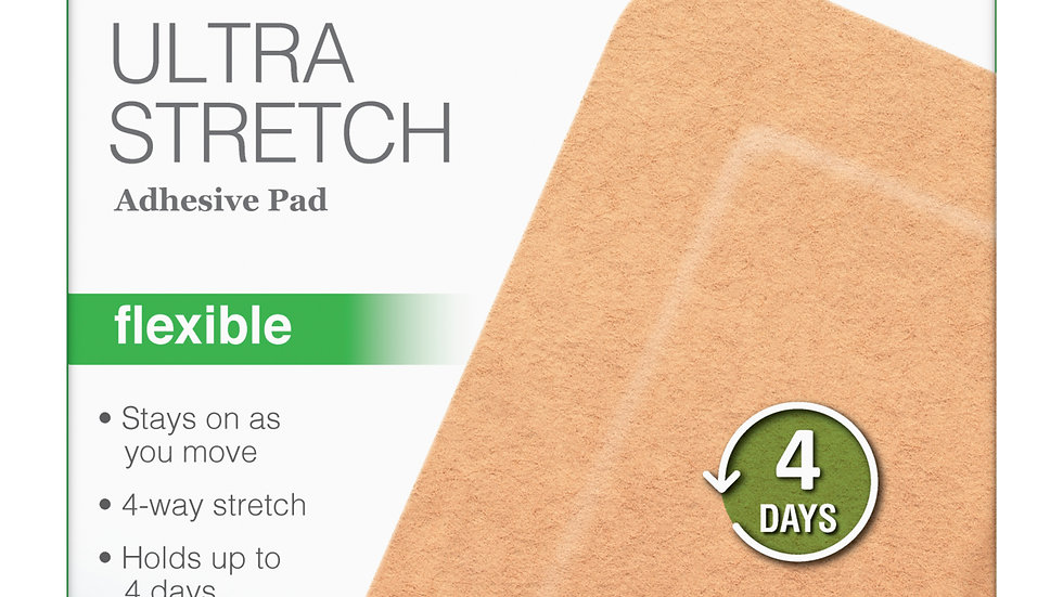 Nexcare™ Ultra Stretch Adhesive Pad SFP34, 3 in x 4 in