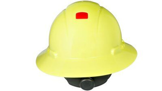 3M™ Full Brim Hard Hat H-809V-UV, Hi-Vis Yellow