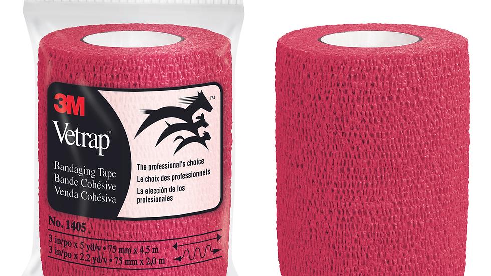 3M™ Vetrap™ Bandaging Tape Bulk Pack, 1405R Bulk Red