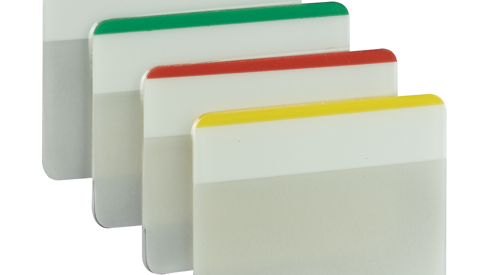 Post-it® Durable Tabs 686F-1, 2 in. x 1.5 in. (50.8 mm x 38 mm)