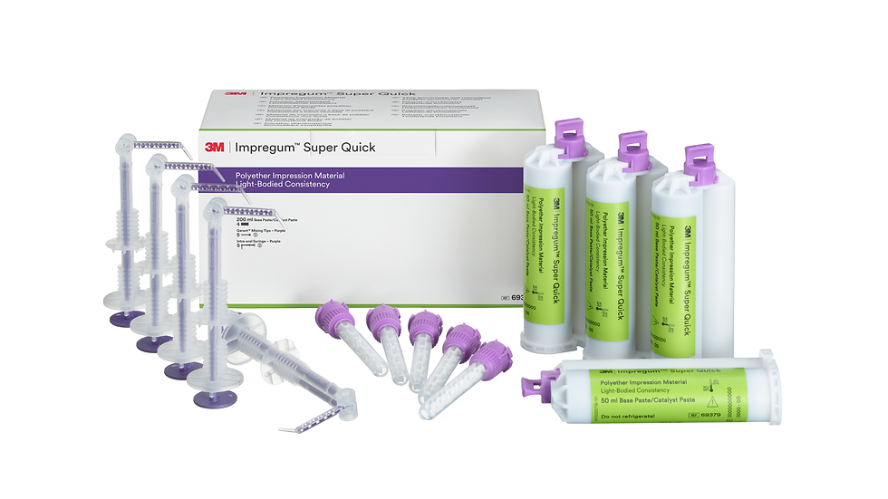 3M™ Impregum™ Super Quick Polyether Impression Material Light Body Refill 69379