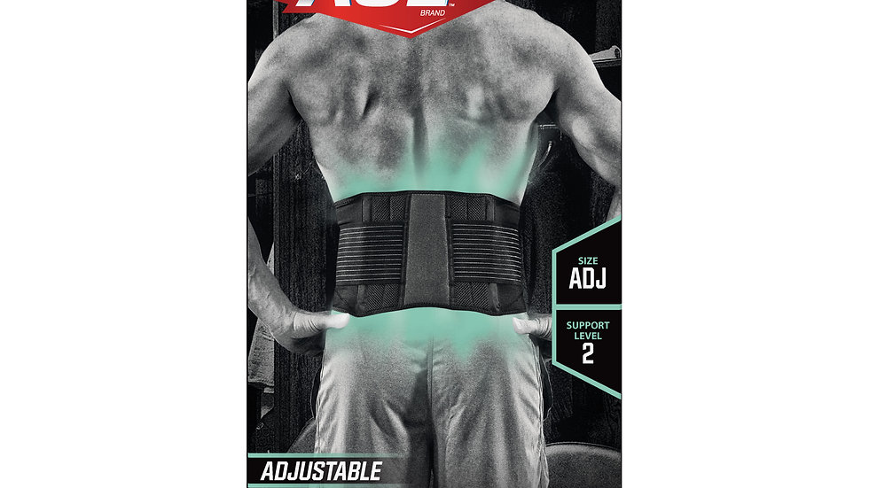 ACE™ Adjustable Back Brace, 902002, Adjustable