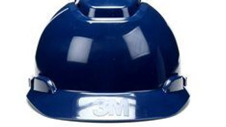 3M™ Hard Hat H-710V, Navy Blue, 4-Point Ratchet Suspension, Vented 20