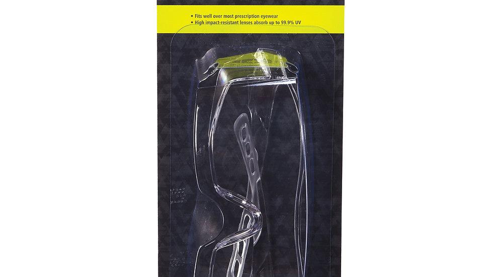 Peltor™ Sport Over The Glass Safety Eyewear 47030-PEL-6, Clear, 6/Case