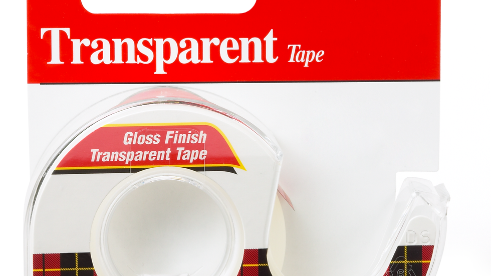 Scotch® Transparent Tape 144, 1/2 in x 450 in