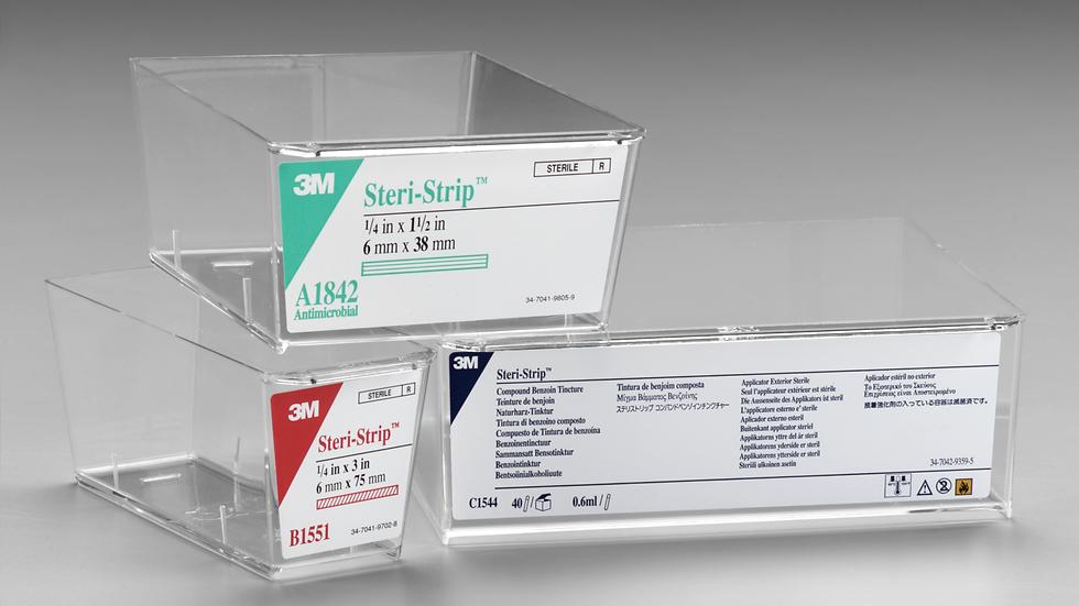 3M™ Steri-Strip™ Skin Closure Small Stacking Tray 1518