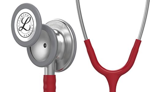 3M™ Littmann® Classic III™ Monitoring Stethoscope, Burgundy Tube, 27 inch, 5627