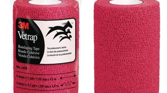3M™ Vetrap™ Bandaging Tape, 1410R Red