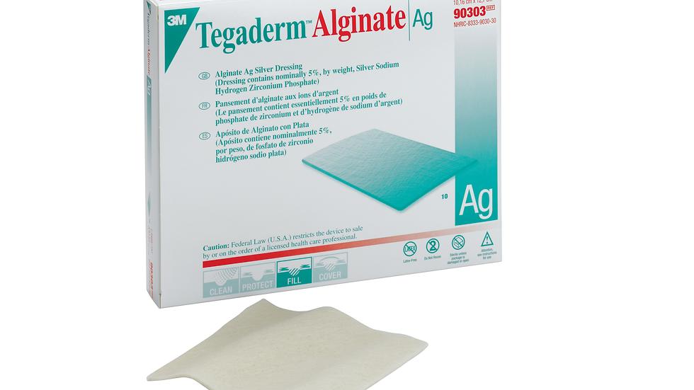 "3M™ Tegaderm™ Alginate Ag Silver Dressing 90303, 4"" x 5"""