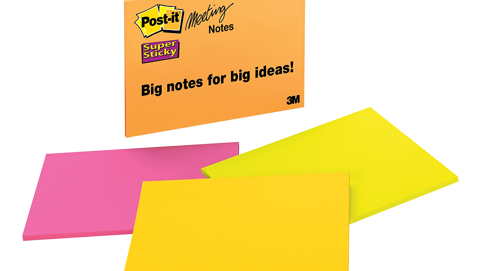 Post-it® Super Sticky Notes 6845-SSP-1PK, 8 in x 6 in (203 mm x 152 mm)